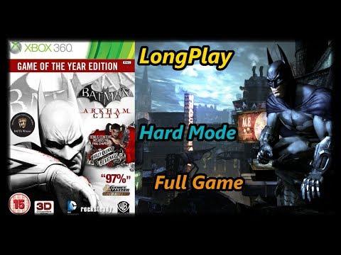Batman: Arkham City - Longplay Full Game Walkthrough (No Commentary)