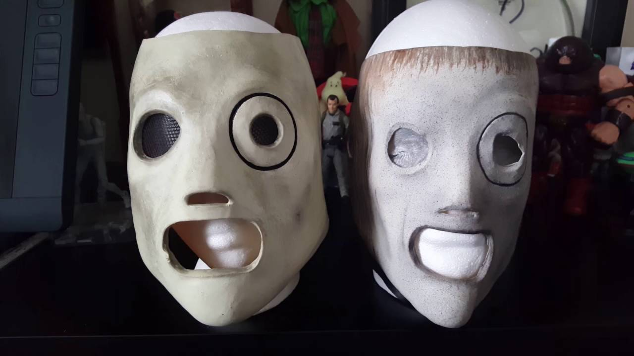 Corey Taylor AHIG Mask Replica Unboxing And Review - YouTube