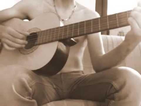 Strimpello - La canzone di Geppetto (da Pinocchio di L.Comencini) - cover chitarra