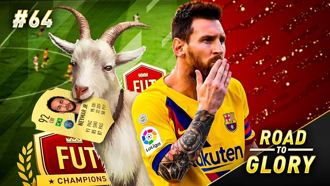 MESSI IS SOOOOO GOOD!!! FUT CHAMPS HIGHLIGHTS ON THE ROAD TO GLORY | FIFA 20 ULTIMATE TEAM