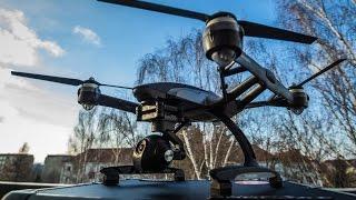 Yuneec Typhoon Q500 4K Drohne Unboxing und Flug
