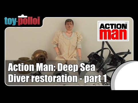 Fix it guide - Action Man Deep sea diver restoration part 1/2