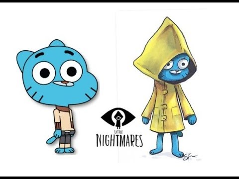 Gumball Characters as Little Nightmares