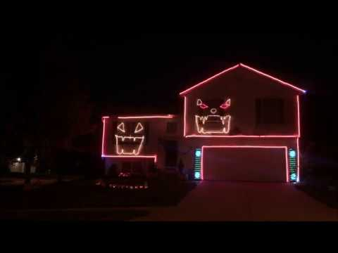 All Hallows Eve - Type O Negative Halloween light show 2017