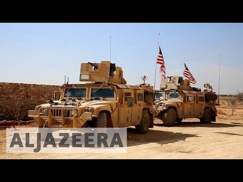 Hundreds of US marines deployed to Syria