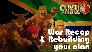 Rebuilding your clan, Korean Style War Recap - Clash of Clans