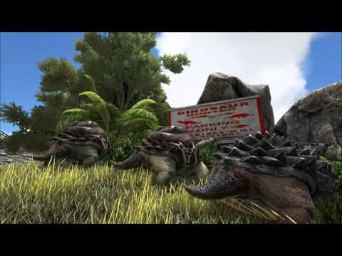 ARK  Survival Evolved - Fallsview Shopping Center and Trading Post