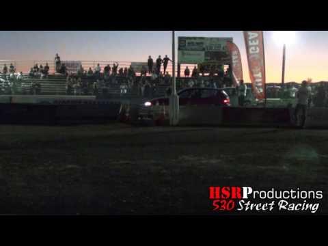Dead Pool Civic vs Auto Gear Civic Five30 Import Drags 2016