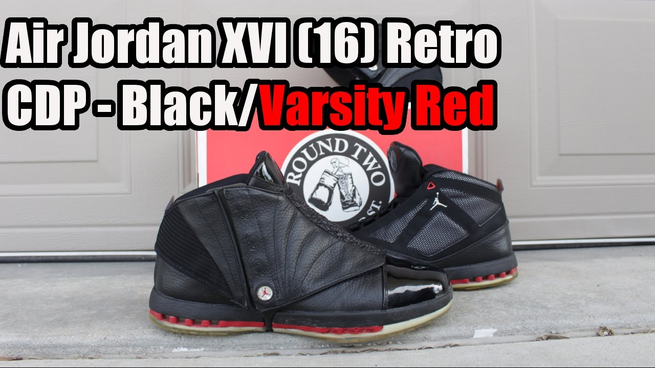 9b2e5dace0a6a9 Air Jordan XVI (16) Retro CDP W  On Foot - YouTube