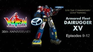 Live Fan Commentary - Watching Armored Fleet Dairugger XV - Episodes 9 - 12