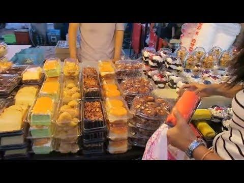 Thai Cakes – Thai Desserts – Thailand Street Food