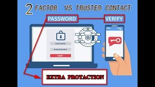 Two-Factor Authentication Vs Trusted friends to contact
