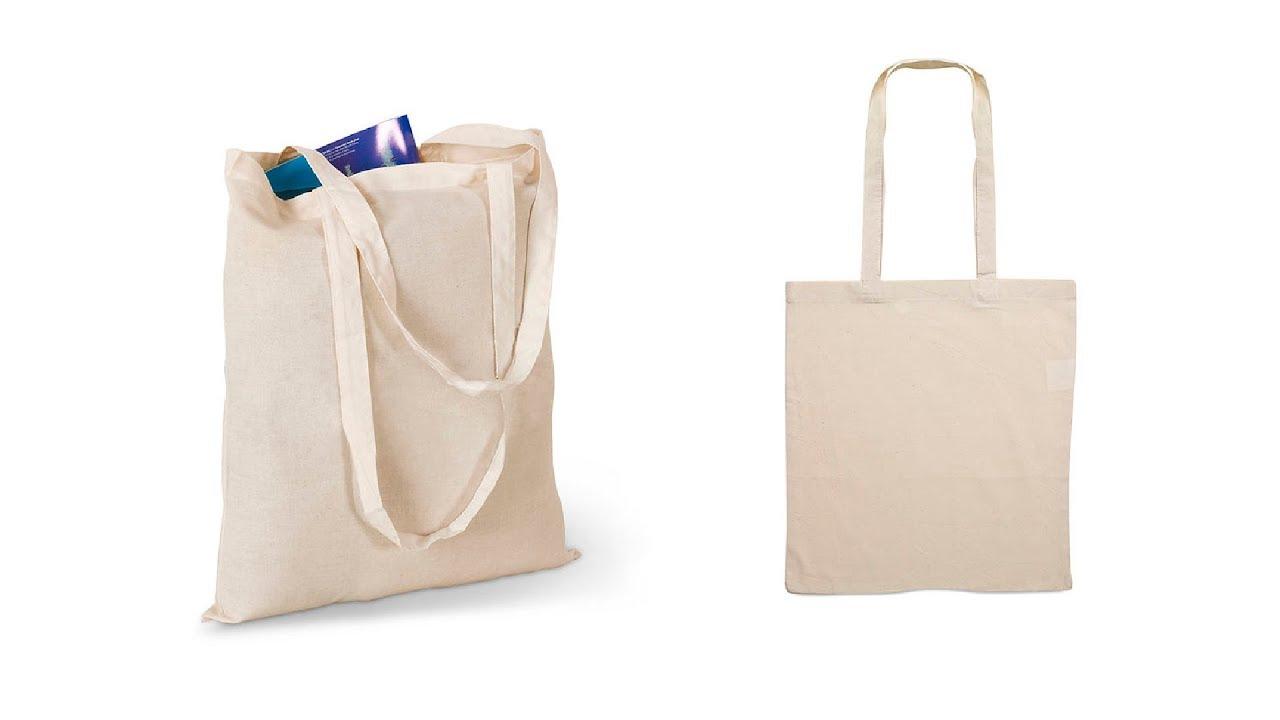 f7b88d5e8 🎁 Bolsas personalizadas baratas 4 - Bolsa de tela de Algodón - YouTube