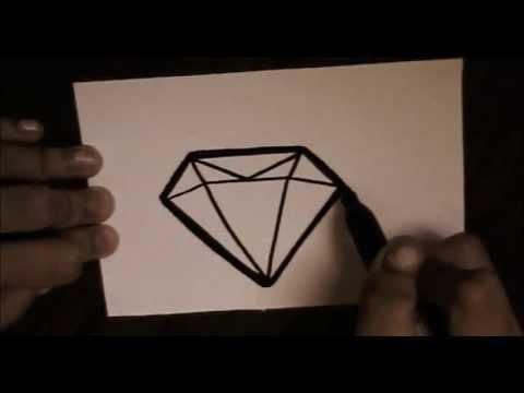 How To Draw Cute Diamond