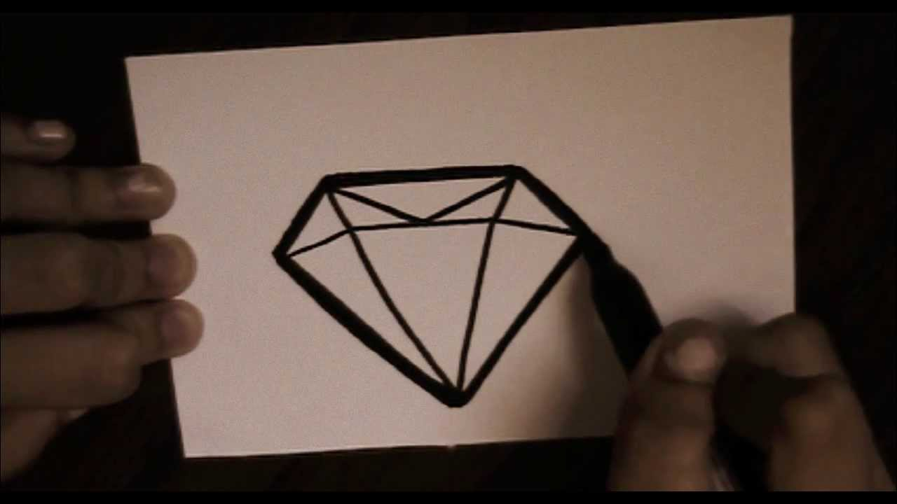 It is a graphic of Transformative Drawing Of Diamonds