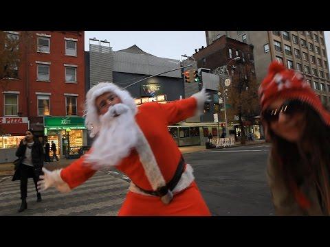 jingle bell rock | mariah carey santa | by kristoffe