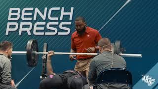 Shaquem Griffin 20 Bench Press Reps 2018 NFL Combine