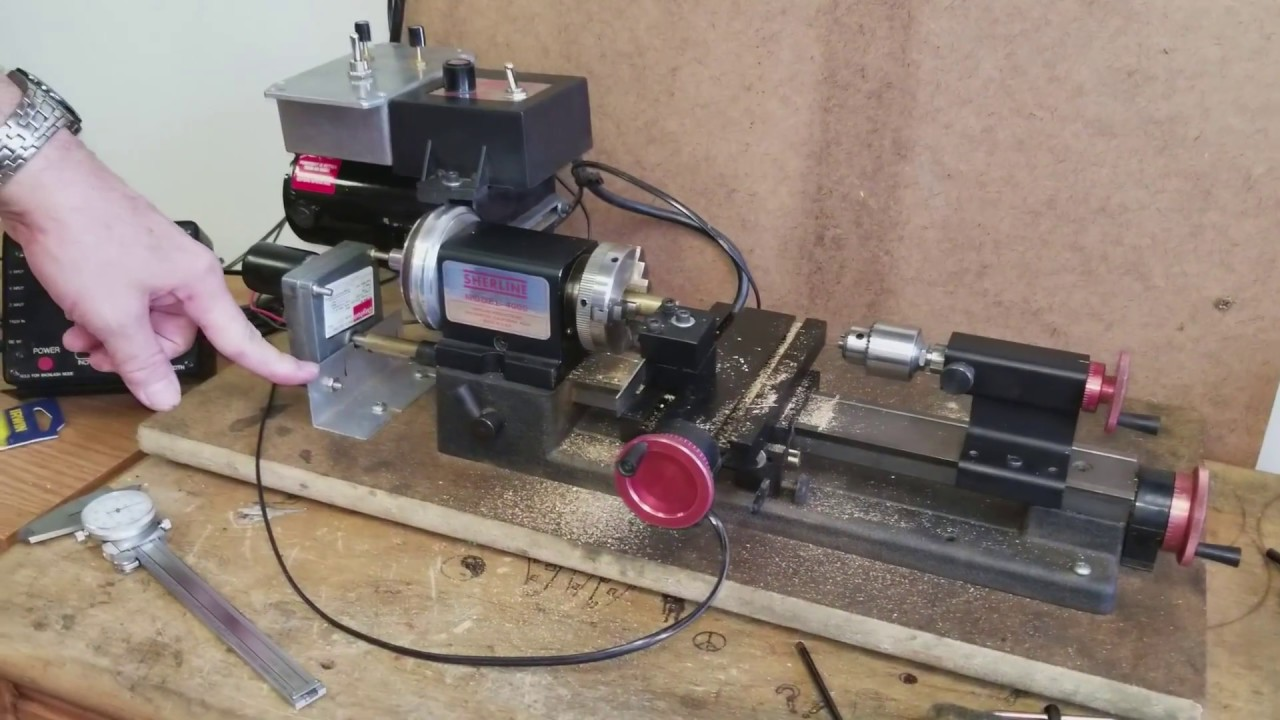 Sherline Lathe Y-axis Drive Modification
