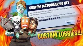 🔴Fortnite Live | NA EAST | HOSTING Custom Matchmaking | USE code REVO_W4X