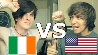 IRISH VS. AMERICAN | (Feat. BriBryOnTour)