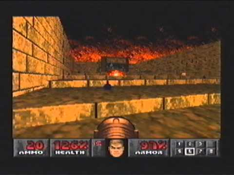Doom - PS1 - Level 30 - Threshold of Pain