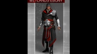 Assassins Creed: Brotherhood- How to get Wetland Ebony and Ivory Clothes