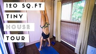 120 Sq Ft Tiny House Tour - Maui, Hawaii