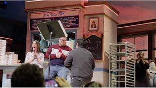 """You Matter To Me"" Proposal at Waitress Karaoke"