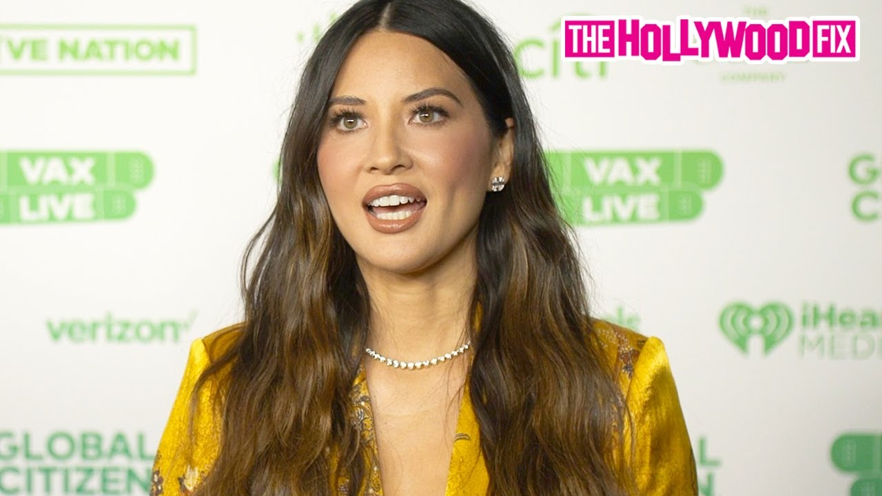 Olivia Munn Speaks On The Hope & Excitement Of Getting Vaccinated At The Global Citizen VAX LIVE