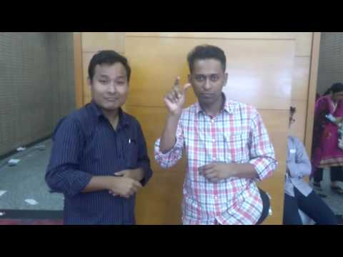 Hello, Deaf world 🌍 from Bangladesh County city Dhaka bicc 14-15/5/ 2016
