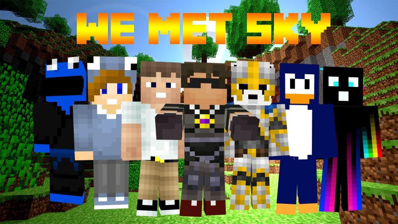 skydoesminecraft vlog meet mason