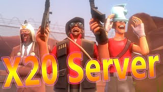 TF2 Multiplied by 20!! THIS GAMEMODE IS INSANE!