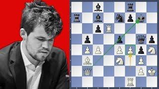 How did he do that? - Carlsen vs Ding Liren | Norway Chess 2019
