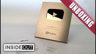 Unboxing our SILVER PLAY AWARD