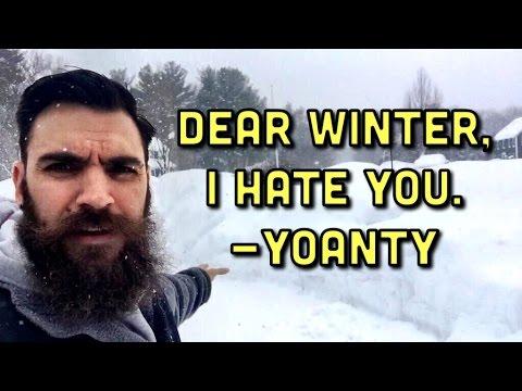 DEAR WINTER, I HATE YOU. ❄️