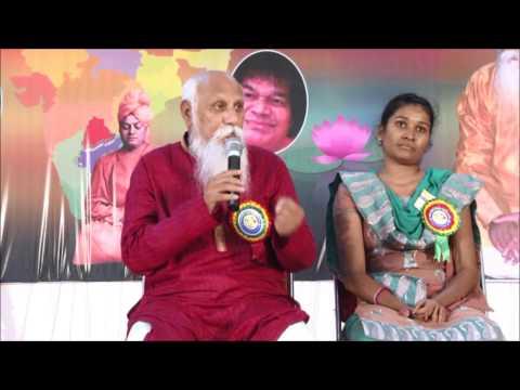 """ You Create Your Own Reality "" - Brahmarshi Patriji, 18th NCSS, Khammam(Telugu)"