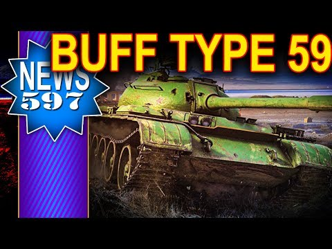 Buff dla Type 59 i innych premek - NEWS - World of Tanks