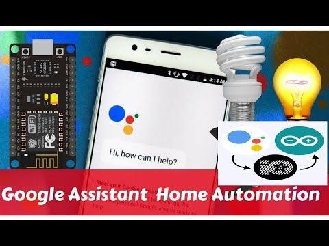 Google Assistant Controlled Multiple Appliances | esp32