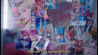 Can't Do Better - Kim Petras (Official Lyric Video)
