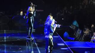 All Saints - Under The Bridge - The O2 - 4-04-14 (Backstreet Boys Concert)