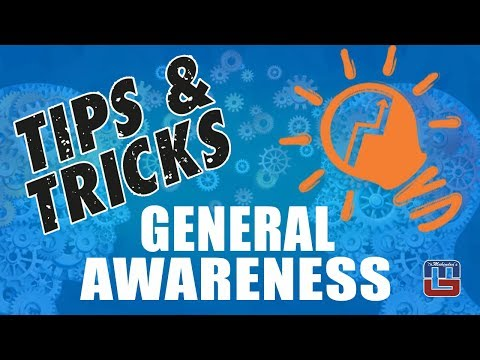 Tips & Tricks For General Awareness | All Competitive Exams