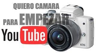 CÁMARA para EMPEZAR en YOUTUBE 2018  CANON EOS M50 Unboxing y PRIMERAS IMPRESIONES
