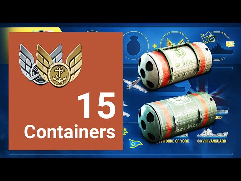 Foghorn Quickie | Opening 15 Premium Air Supply Containers | World Of Warships