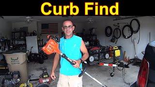 FREE Echo Weedeater - CURB FIND - Repair & Test #SideHustle
