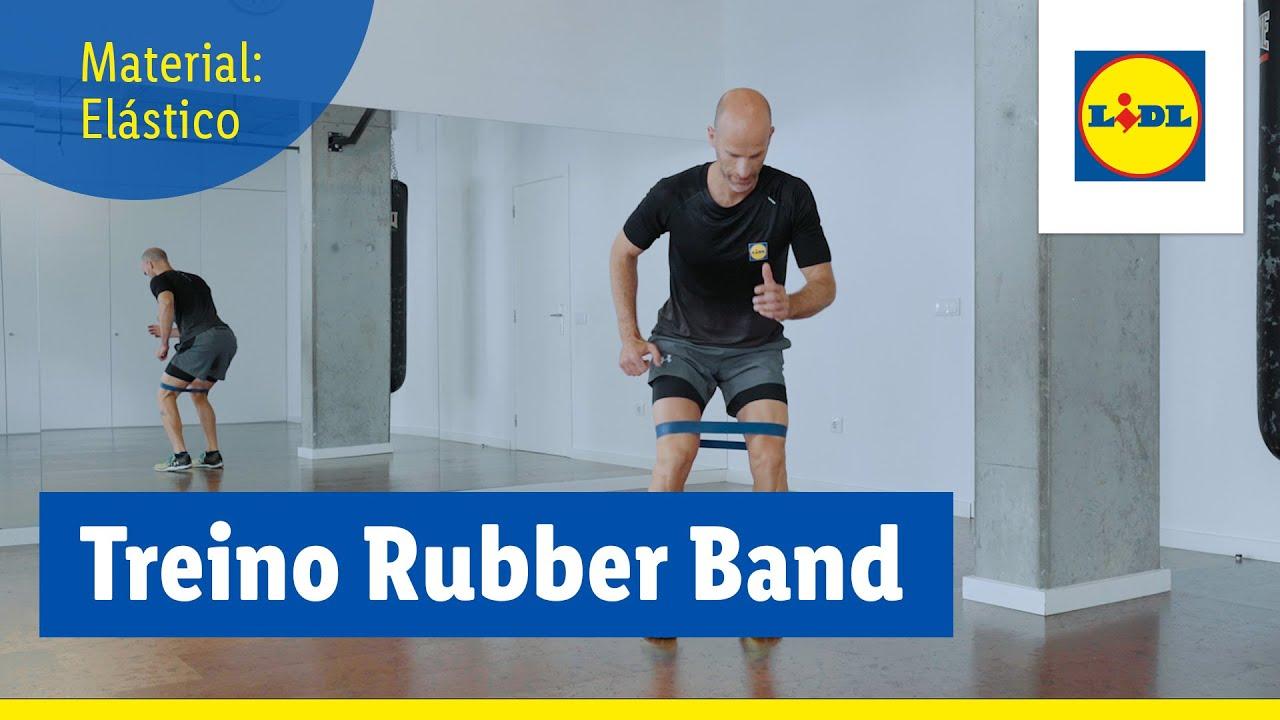 Treino Rubber Band  | Treinar em Casa | Lidl Portugal