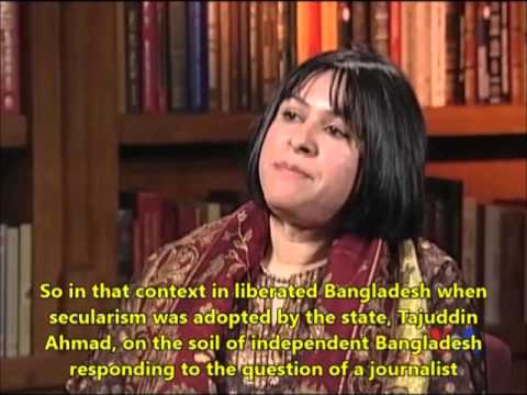 Bangladesh Politics and Religious Controversy (English Subtitles) Daughter of Tajuddin Ahmad