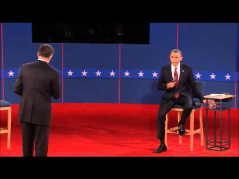Complete Highlights of All United States Presidential Debates 2012 Mitt Romney Vs. Barack Obama