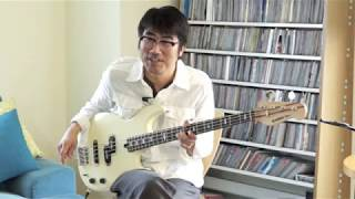 亀田誠治 ベース奏法解説 ROCK2