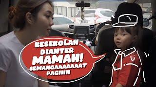 PAGI PAGI ANTER GEMPI KE SEKOLAH!! SEMANGAT GEMMMM..    Vlog Mama Isel & Gempi