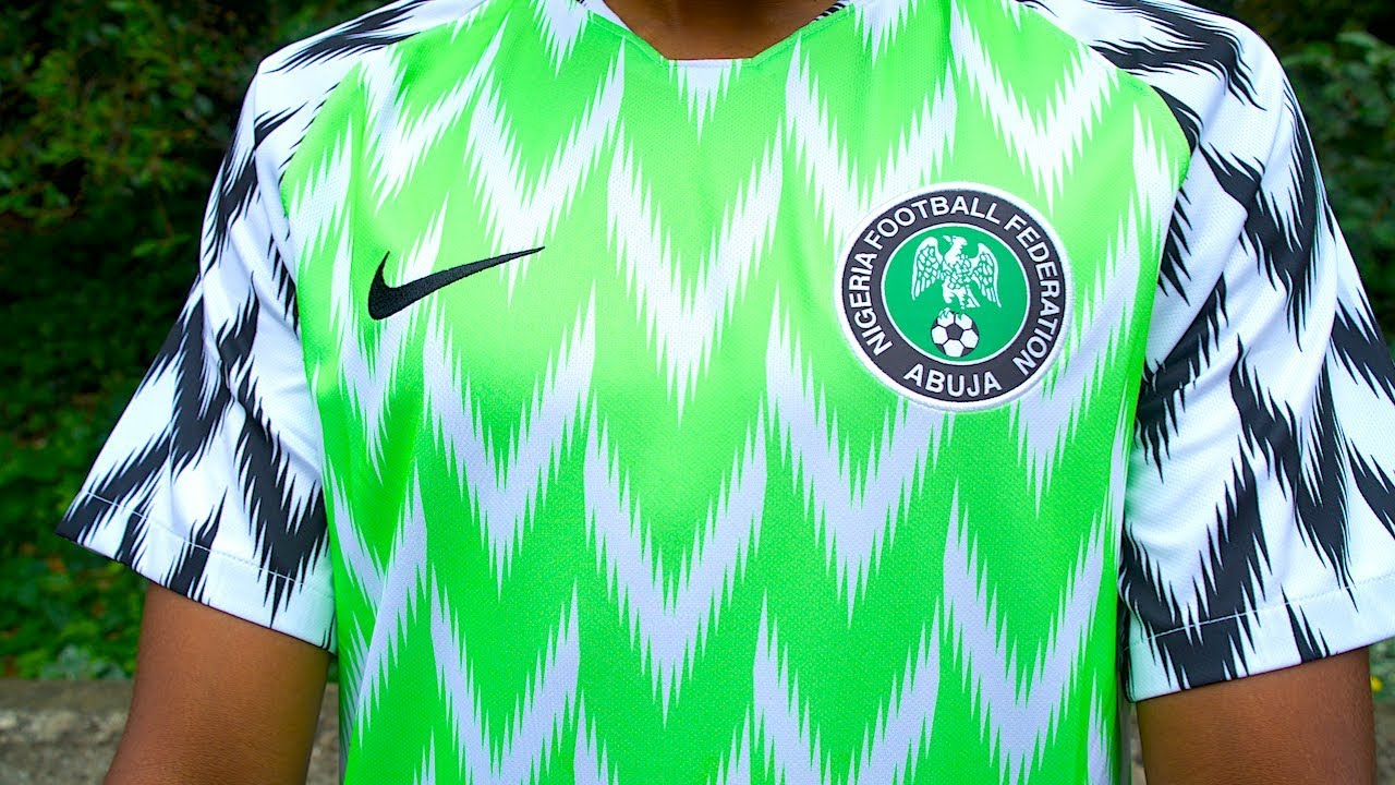 BEST WORLD CUP KIT?! NIKE NIGERIA HOME KIT 2018 | KitLab